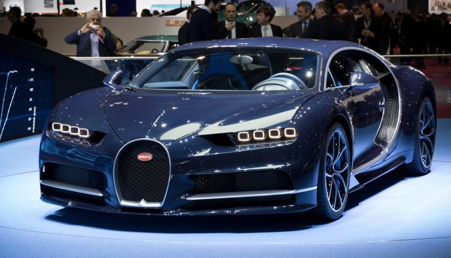 The Bugatti Chiron is in the running for the title of fastest car