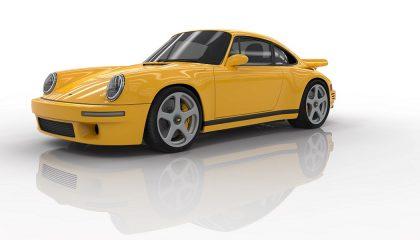 The 2017 Ruf CTR resembles a Porsche 911
