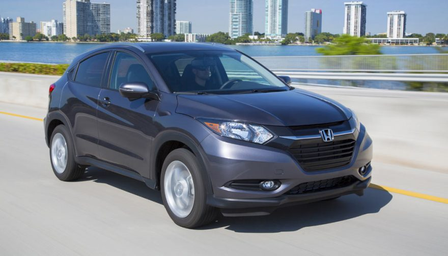 The Honda HR-V is one of the most fuel efficient SUVs