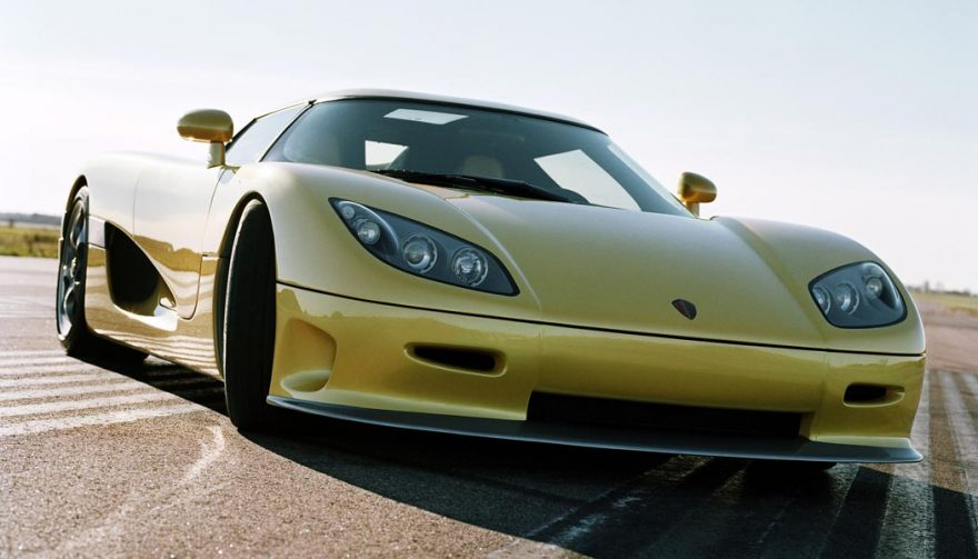 The Koenigsegg CCR is in the running for the title of fastest car