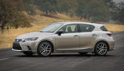 The Lexus CT 200h is one of the best luxury hybrid cars