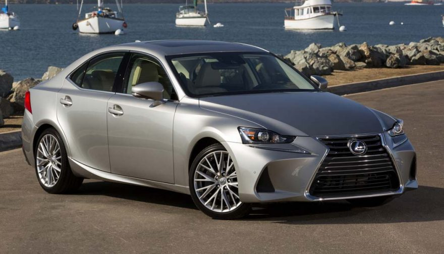 The Lexus IS is one of the most popular luxury cars
