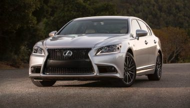 The Lexus LS is one of the best cars for tall drivers