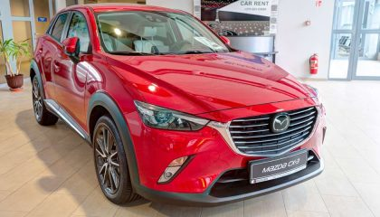 The Mazda CX-3 is one of the safest SUVs of 2017