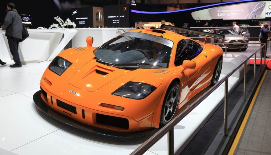 The McLaren F1 is in the running for the title of fastest car