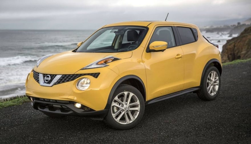 The Nissan Juke is one of the most fuel efficient SUVs
