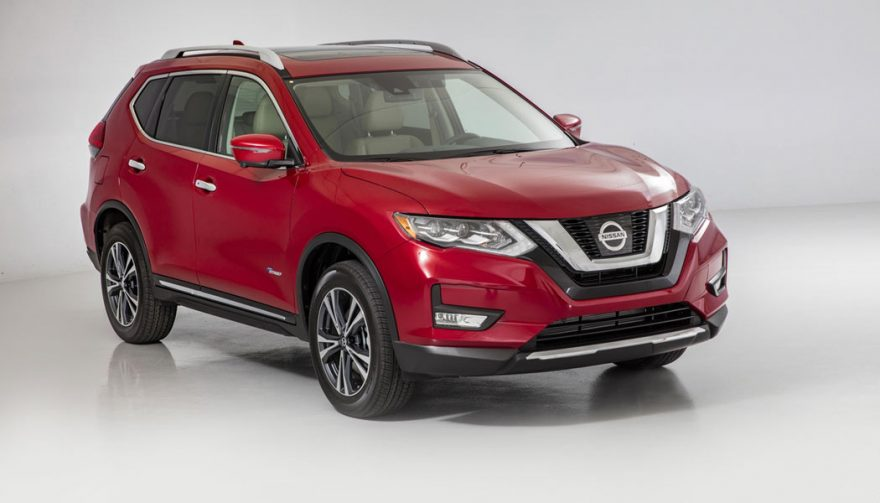 The Nissan Rogue Hybrid is one of the most fuel efficient SUVs