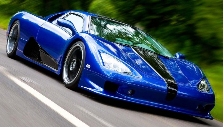The SSC Ultimate Aero is in the running for the title of fastest car