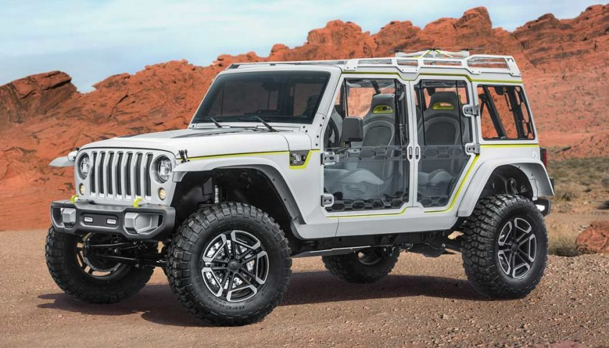 The Jeep Safari is one of the new Jeep concept vehicles recently unveiled