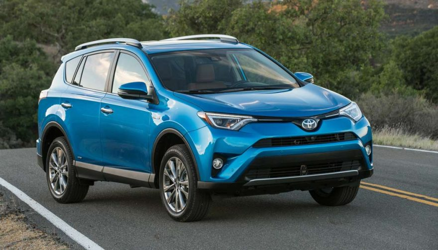 The Toyota RAV4 Limited Hybrid is one of the most fuel efficient SUVs
