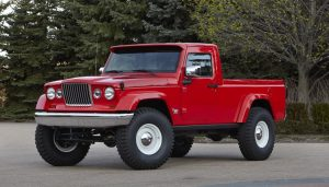 The J-12 is a concept Jeep truck