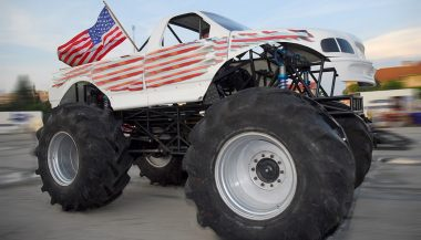 If you know how to make a truck louder, you can make it sound like this monster truck