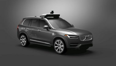 The Volvo and Uber partnership includes these Volvo XC90s