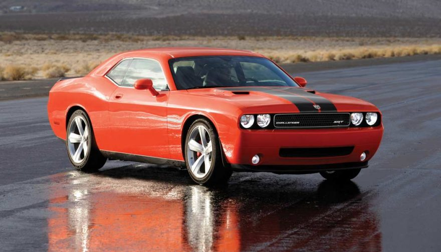 The 2008 Dodge Challenger SRT8 is one of the most affordable muscle cars from this century