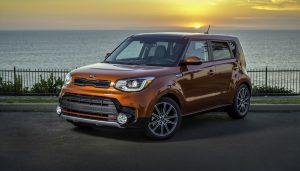 The 2017 Kia Soul has a distrinct look