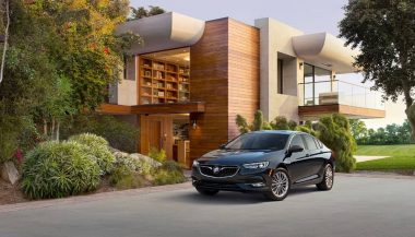 The 2018 Buick Regal Sportback is a new hatchback