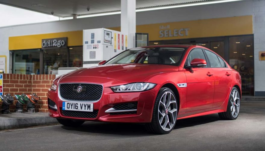 The Jaguar XE is one of the top diesel cars this year
