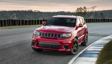 The 2018 Jeep Grand Cherokee Trackhawk