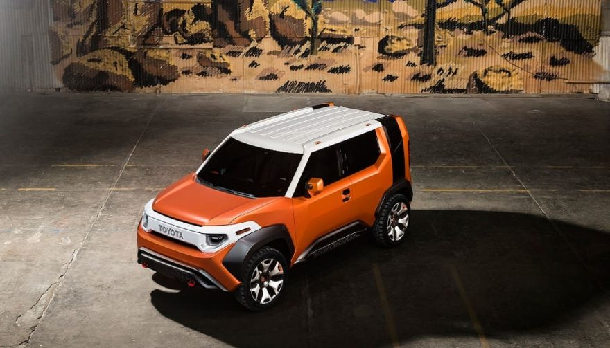 The Toyota FT-4X concept SUV