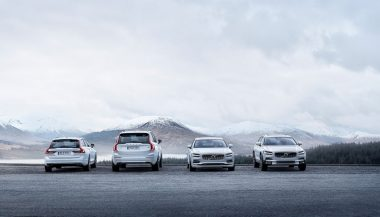Volvo sales are boosted by the 90 series of cars