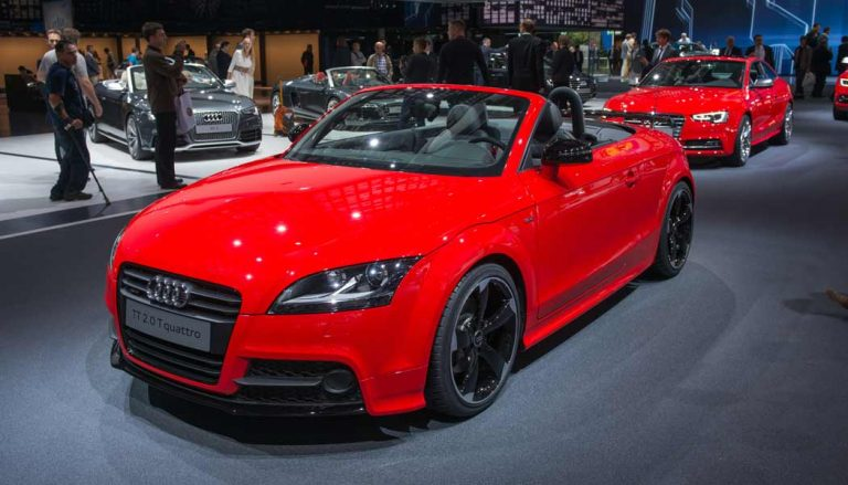 The Audi TT is one of the cars people keep the longest