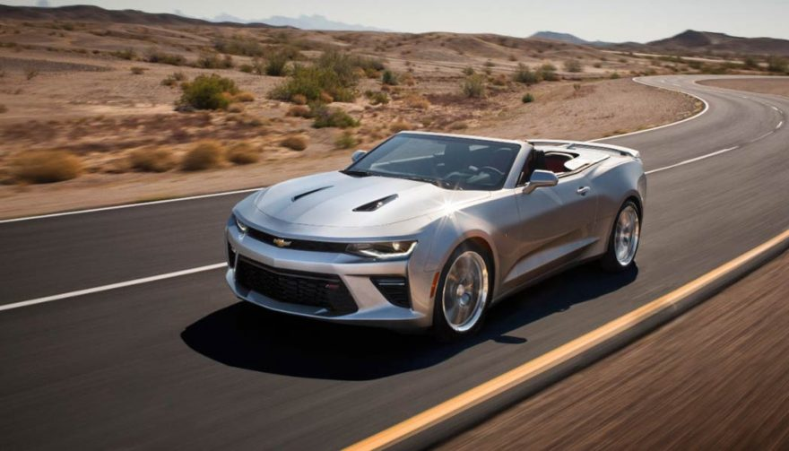 The Chevrolet Camaro is one of the best convertible cars for under $50,000