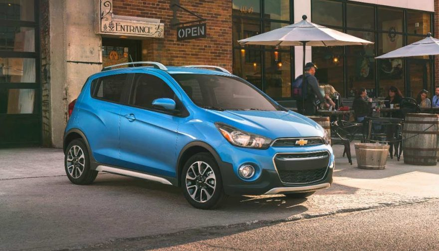The Chevrolet Spark is one of the best cars for teens