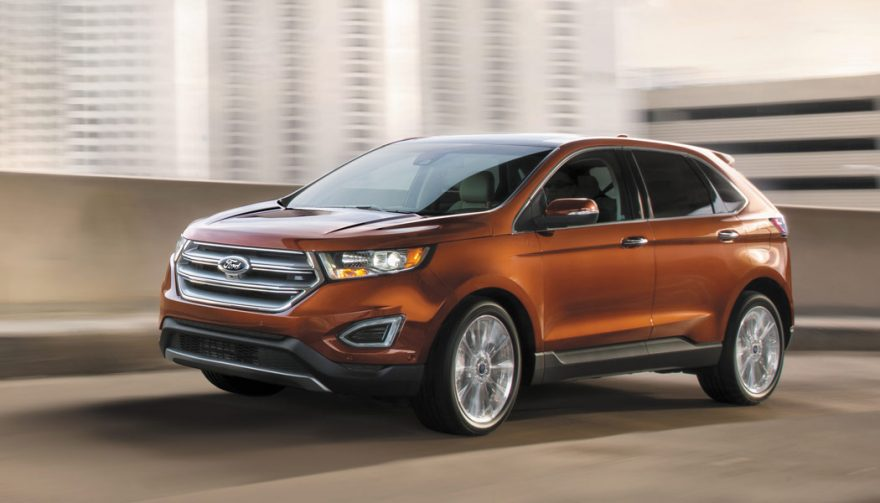 The 2017 Ford Edge