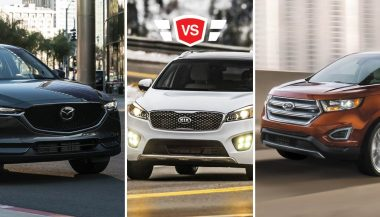 Ford Edge vs Mazda CX-5 vs Kia Sorento
