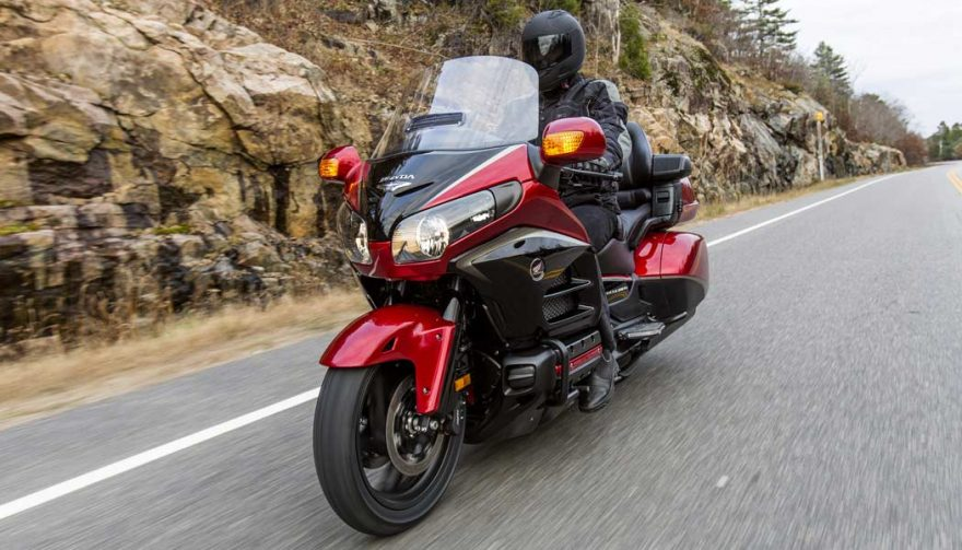 The Honda Gold Wing is one of the best motorcycles for tall riders
