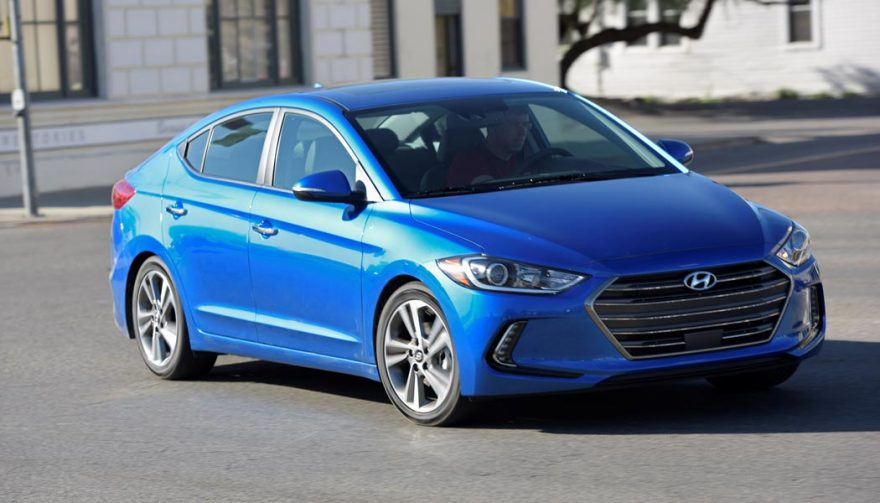 The Hyundai Elantra is one of the best cars for teens
