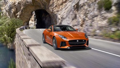 The Jaguar F-Type SVR is one of the best performance cars