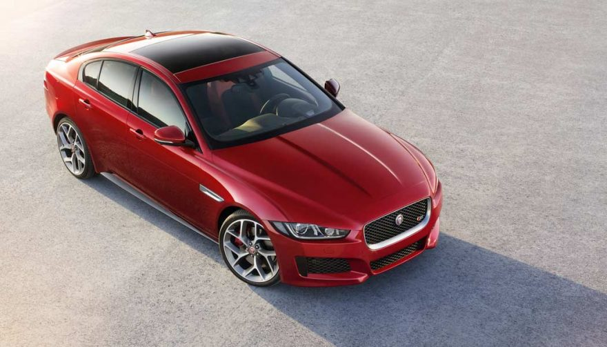 The Jaguar XE is one of the most affordable luxury cars