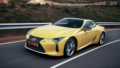 The all-new 2018 Lexus LC