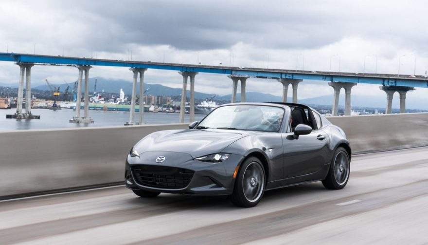 the Mazda MX-5 Miata is one of the best convertible cars for under $50,000
