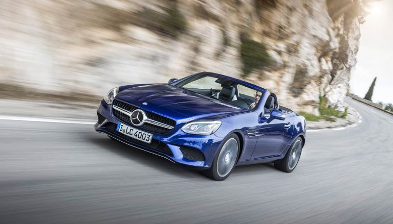The Mercedes-Benz SLC300 Roadster is one of the best convertible cars for under $50,000