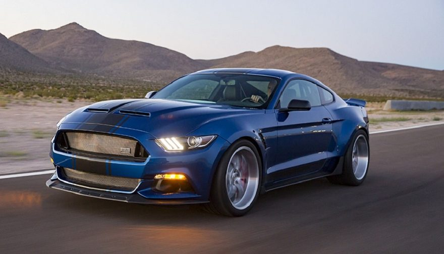 Shelby American designed the 2017 Shelby Super Snake Wide Body Concept
