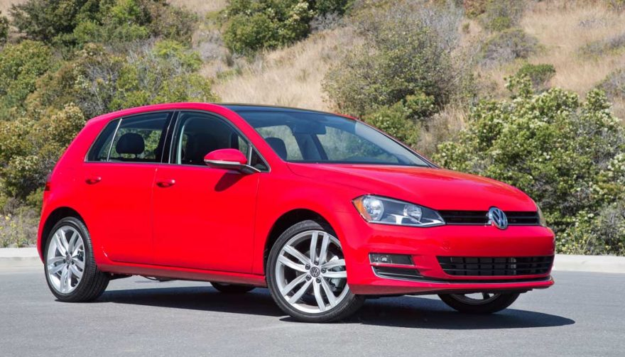 The VW Golf is one of the best cars for teens.
