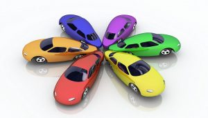 The right car color, like these, can be advantageous when you go to resell