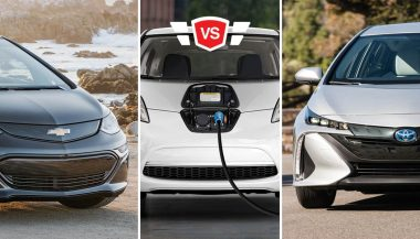 Nissan LEAF vs Toyota Prius Prime vs Chevy Bolt