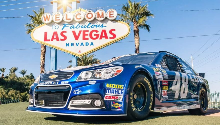 Driving a race car is just one of many things to do in Las Vegas