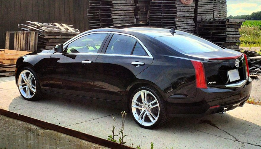Cadillac Back Side View