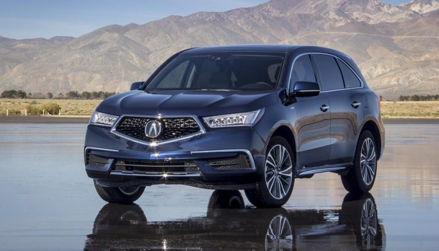 The Acura MDX is one of the best SUVs with third row seating