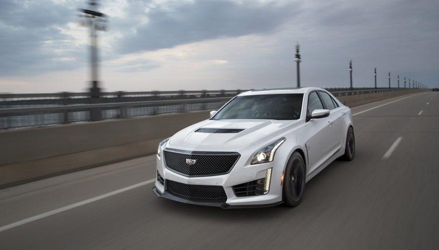 The Cadillac CTS-V