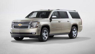 The2017 Chevrolet Suburban