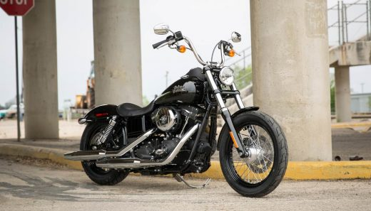 The Harley Davidson Dyna Street Bob is one of the best cruiser motorcycle
