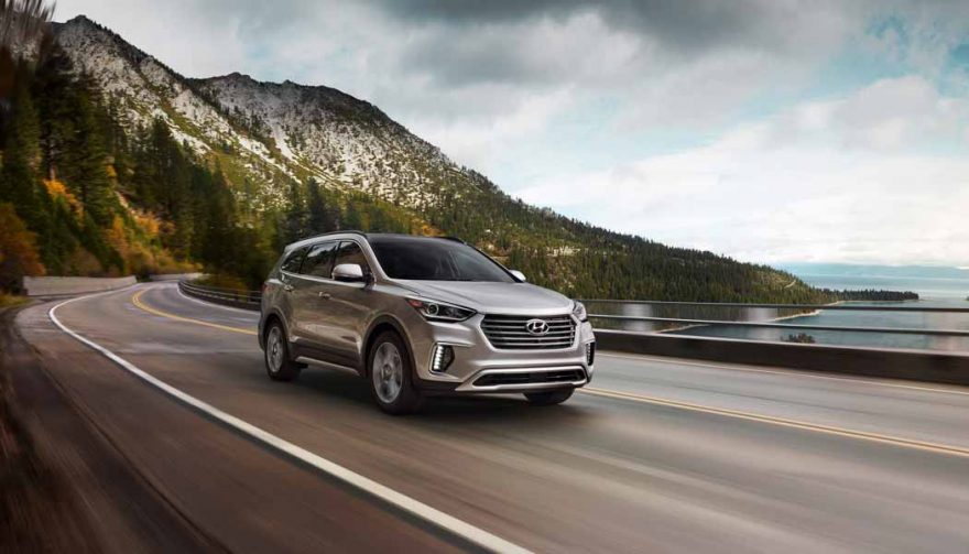 The Hyundai Santa Fe is one of the best SUVs with third row seating