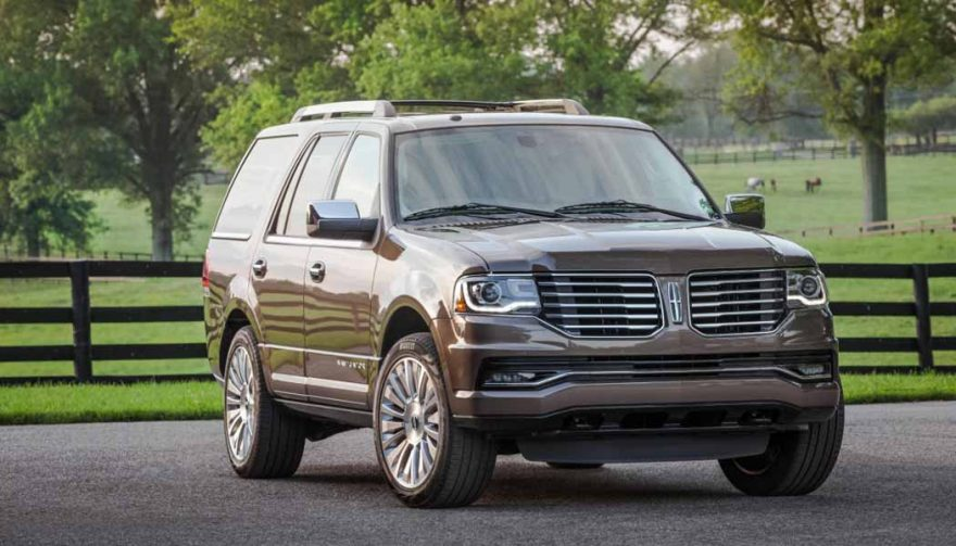 The Lincoln Navigator is one of the best SUVs with third row seating