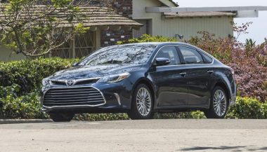 The Toyota Avalon