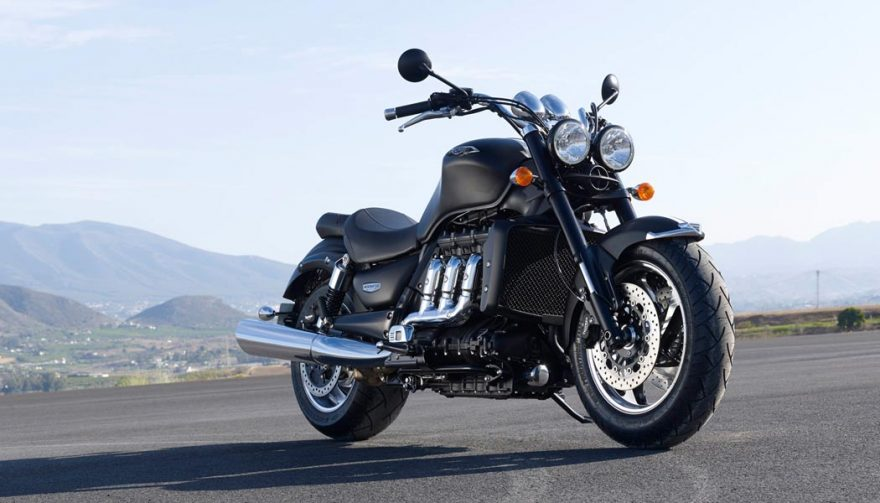 The Triumph Rocket III Roadster is one of the best cruiser motorcycles